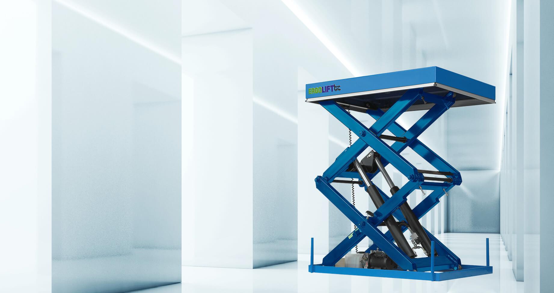 Modern scissor lift tables