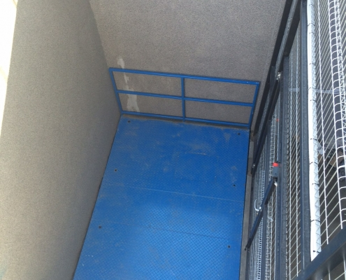 Scissor lift table in Oncological Hospital in Bydgoszcz